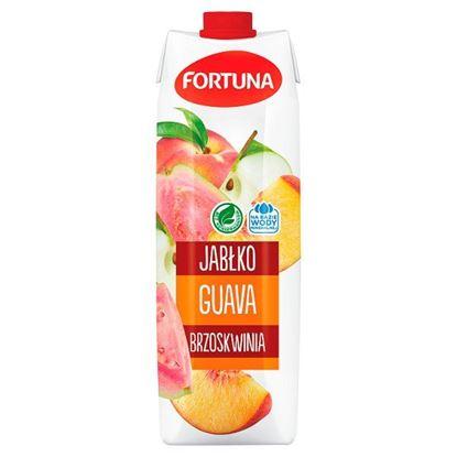 Fortuna Napój jabłko guava brzoskwinia 1 l