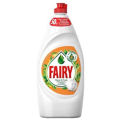 Fairy Pomarańcza z trawą cytrynową Płyn do mycia naczyń 900 ml