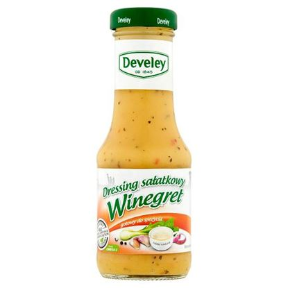 Develey Dressing sałatkowy winegret 200 ml