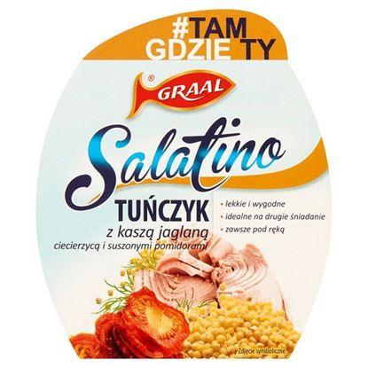 GRAAL Salatino Tuńczyk z kaszą jaglaną ciecierzycą i suszonymi pomidorami 160 g