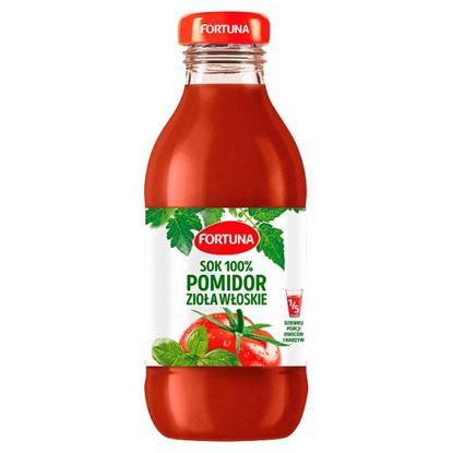 Fortuna Sok 100% pomidor zioła włoskie 300 ml