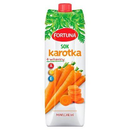 Fortuna Karotka Sok marchew + witaminy A C E 1 l