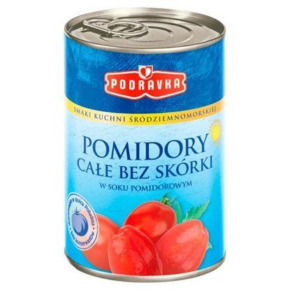 Podravka Pomidory całe bez skórki 400 g