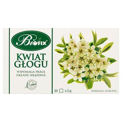 Bifix Herbatka ziołowa kwiat głogu 40 g (20 x 2 g)