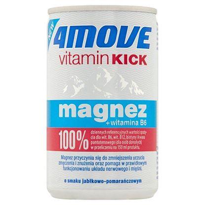 4Move Vitamin Kick Suplement diety niegazowany napój o smaku jabłkowo-pomarańczowym 150 ml