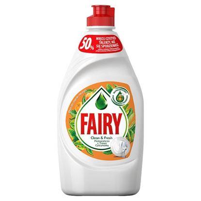 Fairy Pomarańcza z trawą cytrynową Płyn do mycia naczyń 450 ml