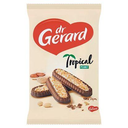 dr Gerard Tropical Peanut Herbatniki z kremem o smaku śmietankowym i polewą kakaową 300 g