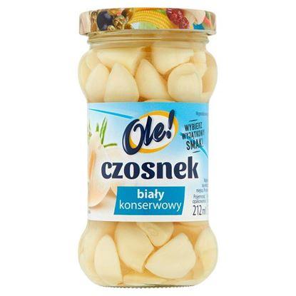 Ole! Czosnek biały konserwowy 190 g