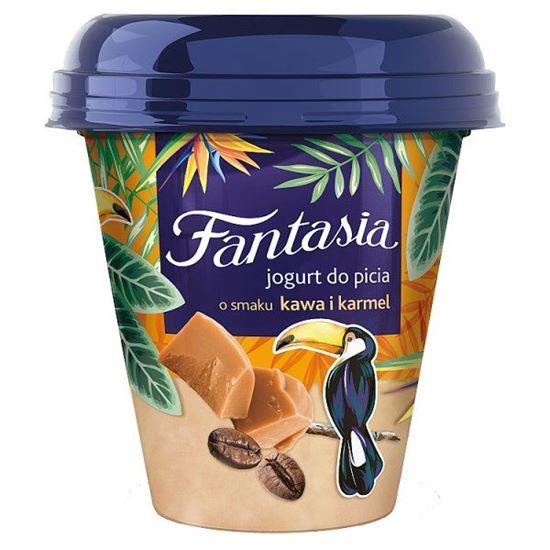 Danone Fantasia Jogurt do picia o smaku kawa i karmel 240 g