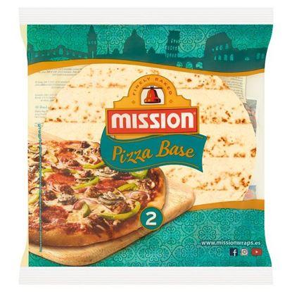 Mission Podkład do pizzy pszenny 230 g (2 sztuki)