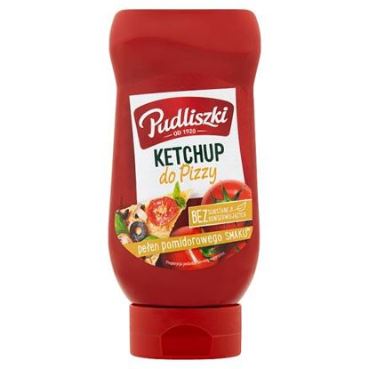 Pudliszki Ketchup do pizzy 470 g