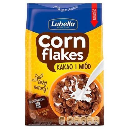 Lubella Corn Flakes Płatki kukurydziane kakao i miód 200 g