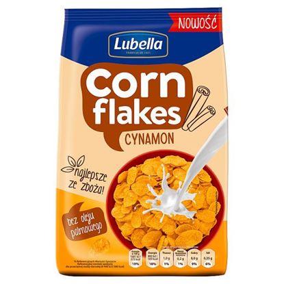 Lubella Corn Flakes Płatki kukurydziane cynamon 200 g
