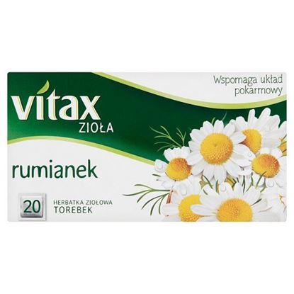 Vitax Zioła Herbatka ziołowa rumianek 30 g (20 x 1,5 g)