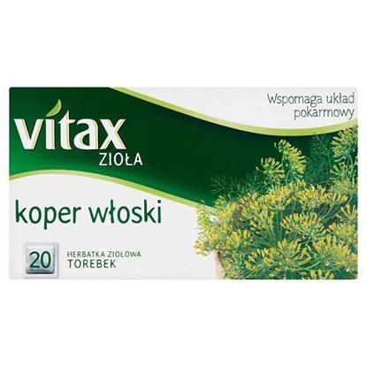 Vitax Zioła Herbatka ziołowa koper włoski 30 g (20 x 1,5 g)