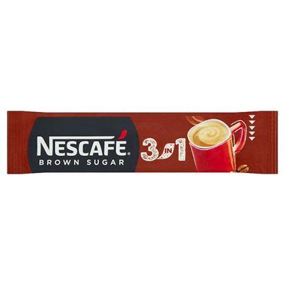 Nescafé 3in1 Brown Sugar Rozpuszczalny napój kawowy 16,5 g