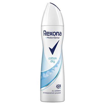 Rexona Cotton Dry Antyperspirant w aerozolu dla kobiet 150 ml