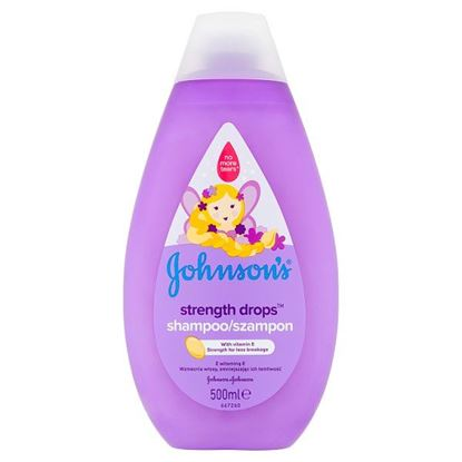 Johnson's Strength Drops Szampon 500 ml