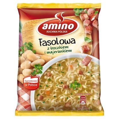 Amino Zupa błyskawiczna fasolowa z boczkiem i majerankiem 61 g