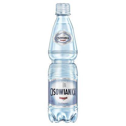 Cisowianka Naturalna woda mineralna gazowana niskosodowa 500 ml