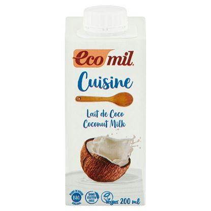 EcoMil Śmietanka z miąższu kokosowego Bio 200 ml