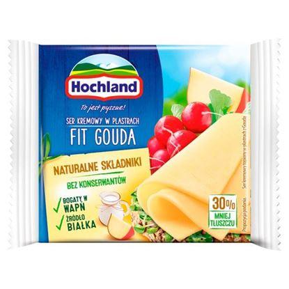 Hochland Ser kremowy Fit Gouda w plastrach 130 g