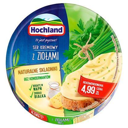 Hochland Ser kremowy w trójkącikach z ziołami 180 g
