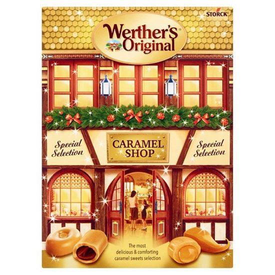 Werther's Original Caramel Shop Mieszanka cukierków śmietankowych oraz cukierków toffi 250 g