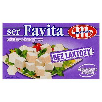 Mlekovita Favita Ser sałatkowo-kanapkowy bez laktozy 270 g