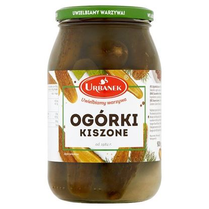 Urbanek Ogórki kiszone 920 g