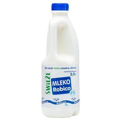 Robico Świeże mleko 2,0% 1 l