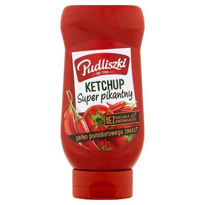Pudliszki Ketchup super pikantny 480 g