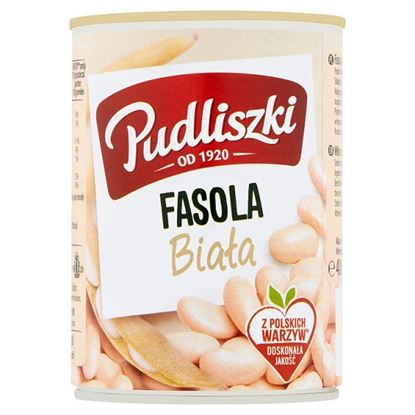 Pudliszki Fasola biała 400 g