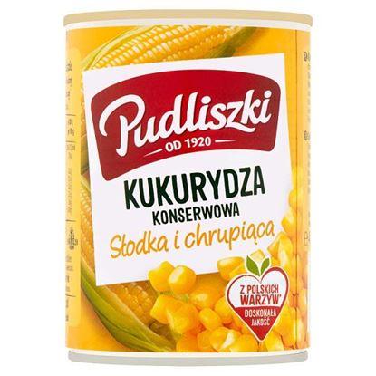 Pudliszki Kukurydza konserwowa 400 g