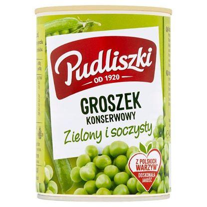 Pudliszki Groszek konserwowy 400 g