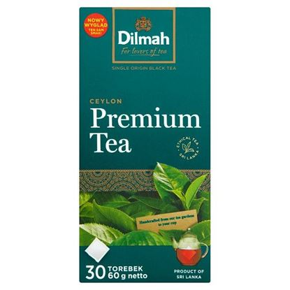 Dilmah Ceylon Premium Tea Klasyczna czarna herbata 60 g (30 x 2 g)