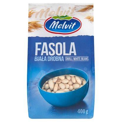 Melvit Fasola biała drobna 400 g