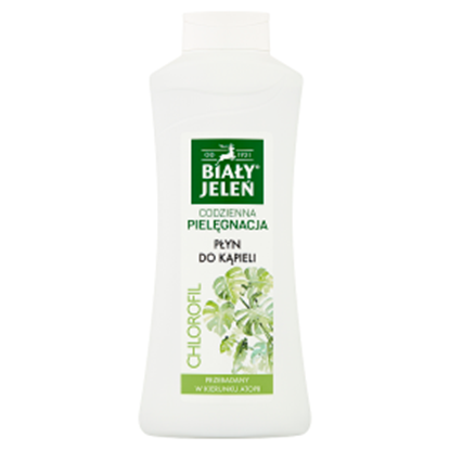 Obrazek Biały Jeleń Płyn do kąpieli chlorofil 750 ml