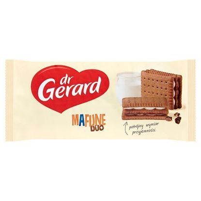 dr Gerard Mafijne Duo Herbatniki kakaowe z kremem o smaku śmietankowym i kremem czekoladowym 216 g