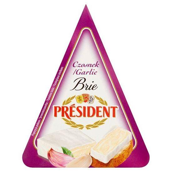 Président Ser Brie czosnek 125 g