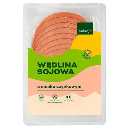 Polsoja Wędlina sojowa o smaku szynkowym 100 g