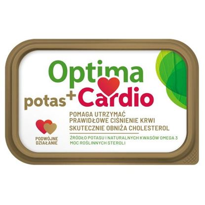 Optima Cardio potas+ Margaryna z dodatkiem steroli roślinnych 400 g