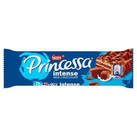 Princessa Intense Milk Chocolate Wafel z kremem kakaowym oblany czekoladą mleczną 33 g