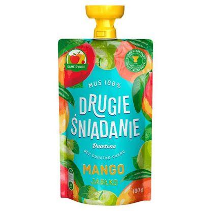 Drugie śniadanie Mus 100% mango jabłko 100 g