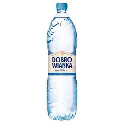 Dobrowianka Woda mineralna lekko gazowana 1,5 l
