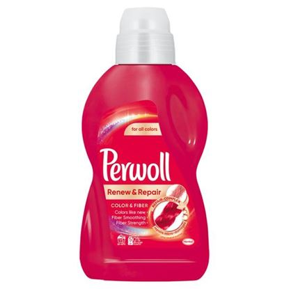 Perwoll Renew & Repair Color & Fiber Płynny środek do prania 900 ml (15 prań)