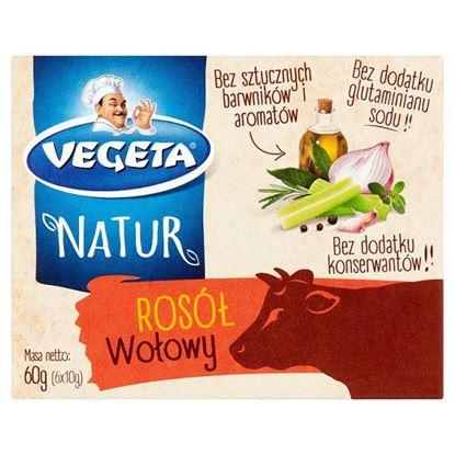 Vegeta Natur Rosół wołowy 60 g (6 x 10 g)