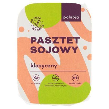 Polsoja Pasztet sojowy klasyczny 125 g