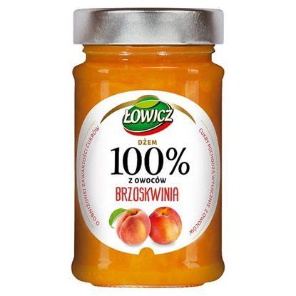 Łowicz Dżem 100% z owoców brzoskwinia 220 g
