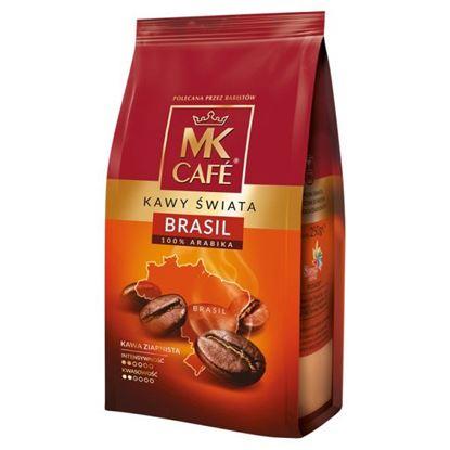 MK Cafe Kawy Świata Brasil Kawa ziarnista 250 g